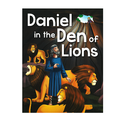 Picture of BIBLE STORIES-DANIEL IN THE DEN OF LIONS