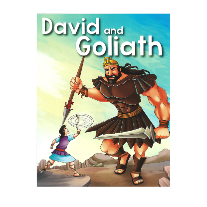 Picture of BIBLE STORIES-DAVID AND GOLIATH