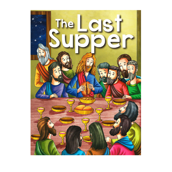 Picture of BIBLE STORIES-THE LAST SUPPER