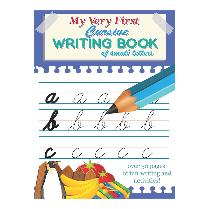 Picture of NEW MY VERY FIRST CURSIVE WRITING BOOK-SMALL LETTERS