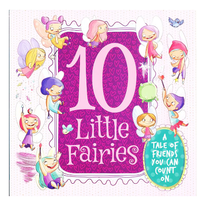 Picture of PICTURE FLATS-10 LITTLE FAIRIES