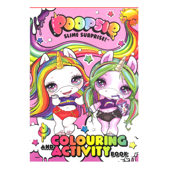 Picture of POOPSIE SLIME SURPRISE-COLORING AND ACTIVITY BOOK