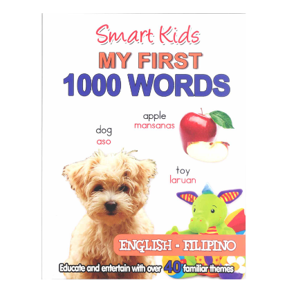 Picture of SMART KIDS MY FIRST 1000 WORDS (ENG-FIL)